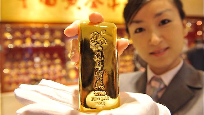 Chinese-gold-bar